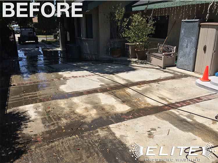 Driveway Pressure Washing Elite Pressure Washing